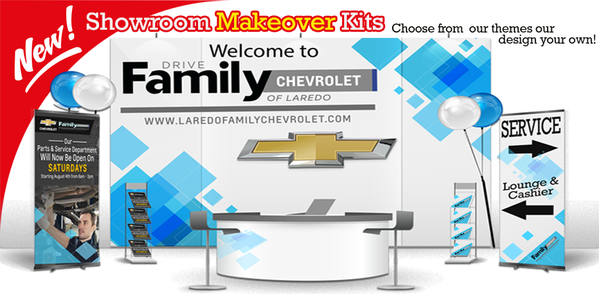 Showroom Makeover kits