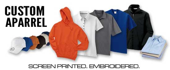 Custom Apparel & Sublimation Products