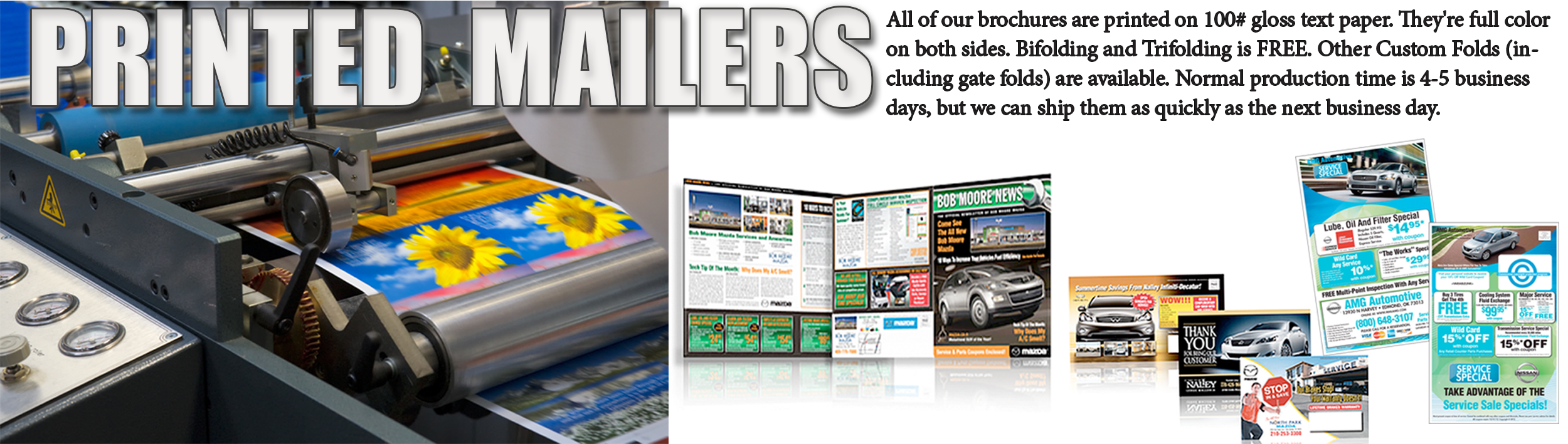 Catalogs & Brochure Print - Direct Mailers