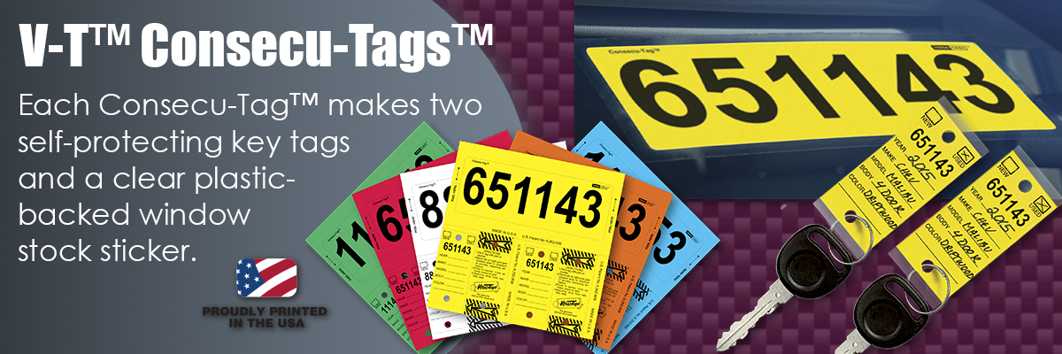Auto Dealer Key Tags