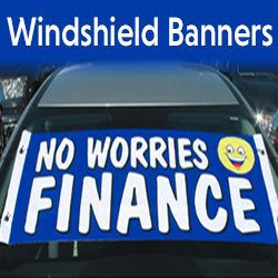 Windshield Banners